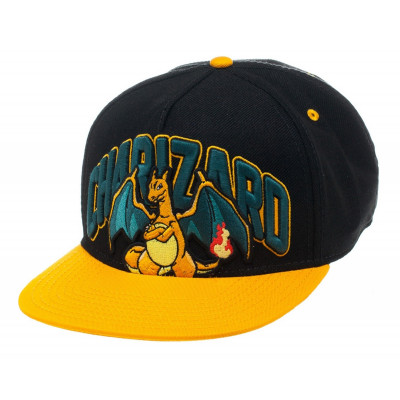 Pokemon Glurak Snapback Kappe