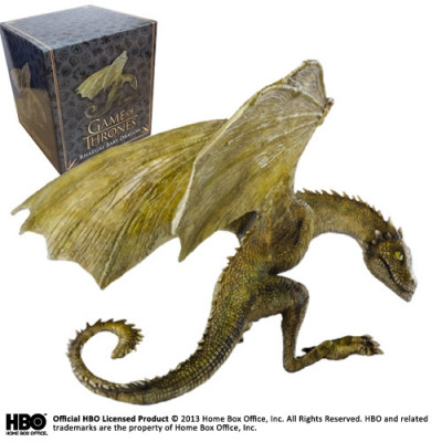 Game of Thrones Rhaegal Baby Dragon 12 cm Skulptur
