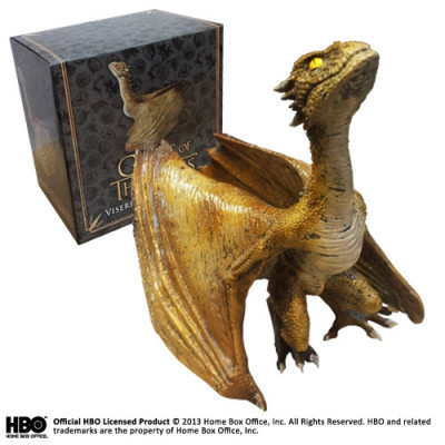 Game of Thrones Viserion Baby Dragon 12 cm  Skulptur