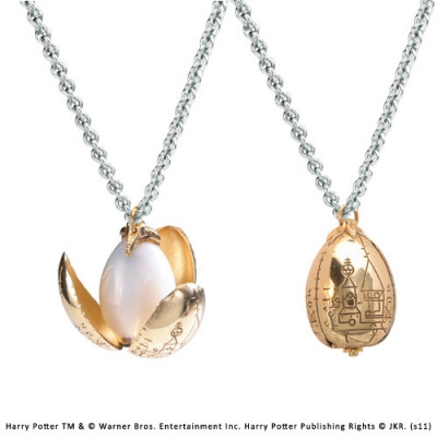 Harry Potter golden egg gold plated chain