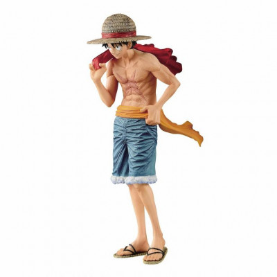 One Piece Magazine Vol. 2 Monkey D. Luffy 22 cm figure