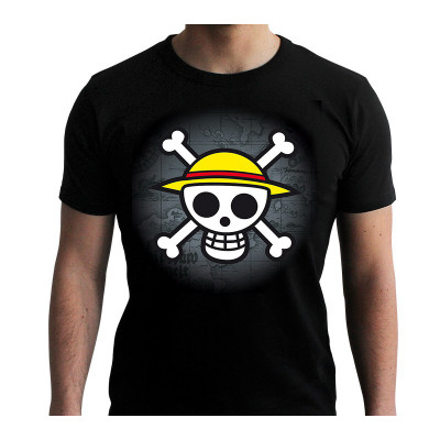 One Piece - Skull & Map - T-Shirt M-L