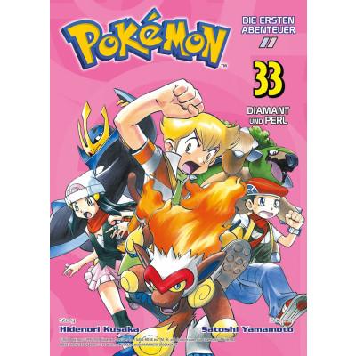 Pokémon - Die ersten Abenteuer 33: Diamant und Perl Manga