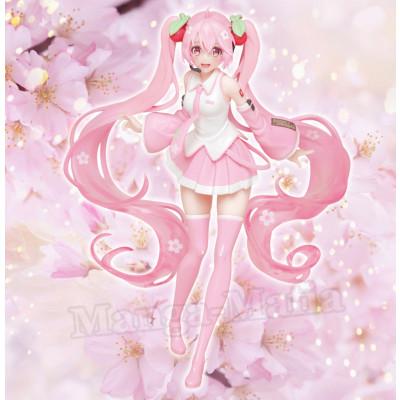 PREORDER - Vocaloid - Sakura Miku - New Illustration Ver. - 18cm PVC Statue
