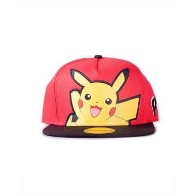 Pokémon - Pikachu Popart - Snapback Cap