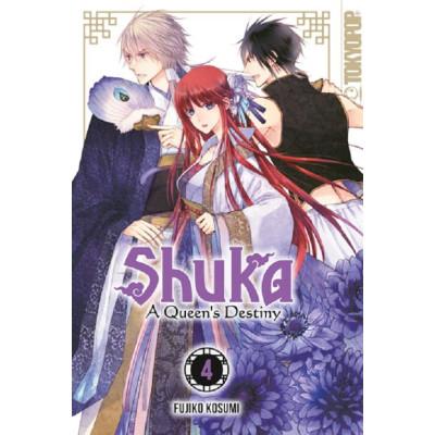 Shuka – A Queen's Destiny 4 Manga