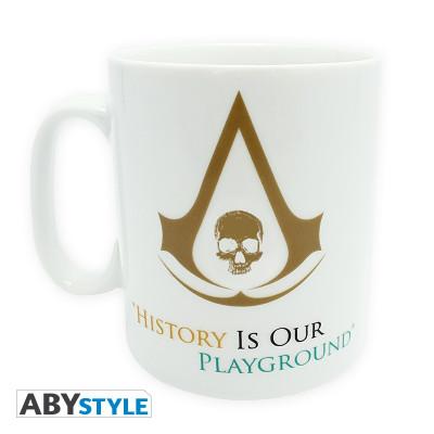 Assassin's Creed 4 History 460ml Mug