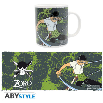 One Piece Zorro Green 320ml Mug