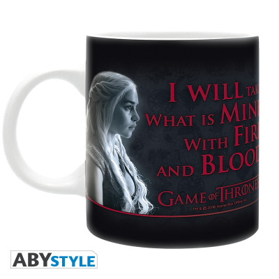 Game Of Thrones Fire & Blood 320 ml Mug