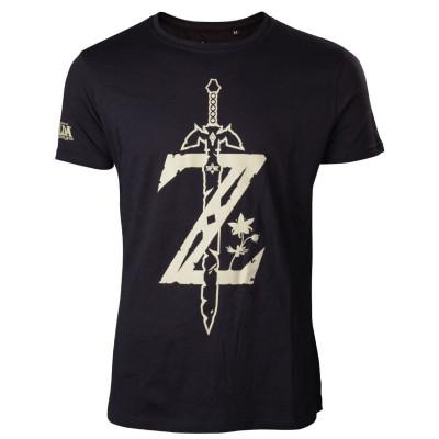 The Legend of Zelda Z with sword T-shirt size XXL
