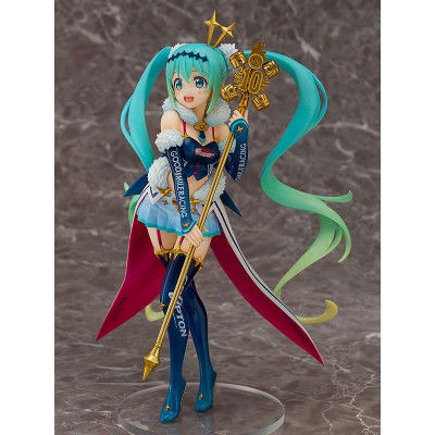 COLLECTOR ♦ Hatsune Miku GT Project PVC Statue 1/7 Racing Miku 2018: Challenging to the TOP 23 cm figure