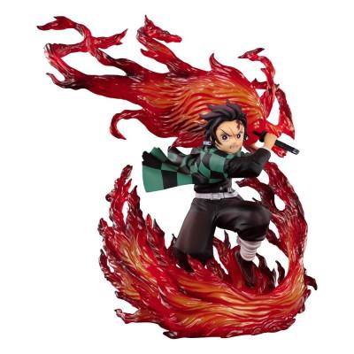 PREORDER ♦ Demon Slayer PVC Statue Kamado Tanjiro (Hinokami Kagura) 21 cm Figur