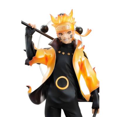 COLLECTOR ♦ Naruto Shippuden G.E.M. Serie PVC Statue Uzumaki Naruto Rikudo Sennin Mode 22 cm figure