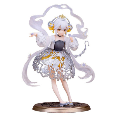 PREORDER ♦ National Treasure PVC Statue 1/7 Silver Sachet with Grape Flower and Bird Pattern 21 cm figure