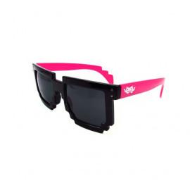 8-Bit black/red Pixel Sunglasses