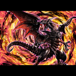 PREORDER ♦ Yu-Gi-Oh! - Red-Eyes Black Dragon 32 cm PVC Statue