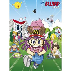 Dr. Slump - Penguin Village - 52x38 Chibi-Poster