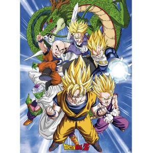 Dragon Ball Z - Cell Saga - 52x38 Chibi-Poster