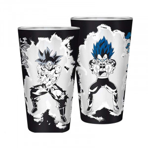 Dragon Ball Super - Son Goku & Vegeta - 400ml Glas