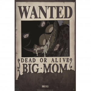 One Piece - Wanted Big Mom - 52x35 Chibi-Poster