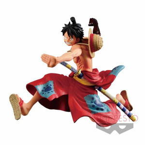 One Piece - Monkey D. Luffy - Battle Record Collection - 14cm PVC Statue