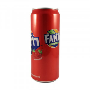 Fanta Strawberry 325ml Can