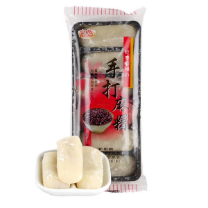 Mochi - sticky rice cake - red beans (handmade) in gift box 180g