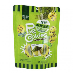 Mochi - Sticky rice cake biscuit - Matcha in gift box 120g