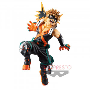 PREORDER ♦ My Hero Academia - King of Artist Bakugou Katsuki 18 cm figure