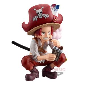PREORDER - One Piece - Shanks - DXF Grandline Children - 9cm PVC Statue