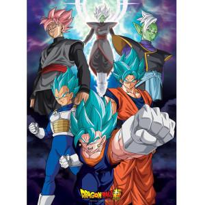 Dragon Ball Super - Fusions - 52x38 Chibi-Poster