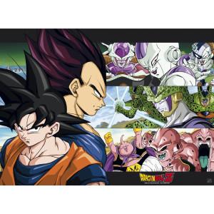 Dragon Ball Z - Son Goku & Enemies - 52x38 Chibi-Poster