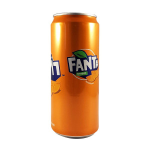 Fanta Orange 325ml Can