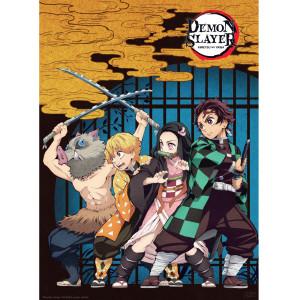 Demon Slayer - Group - 52x38 Chibi-Poster