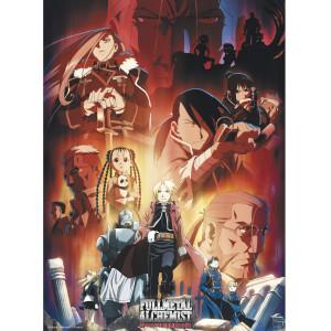 Fullmetal Alchemist - Group - 52x38 Chibi-Poster