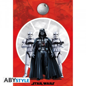 Star Wars Darth Vader & Troopers Poster