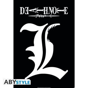 Death Note L Symbol Poster