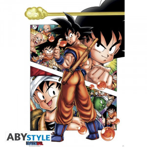 Dragon Ball Son Goku Story Poster