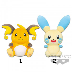 Pokemon - Raichu and Minun 22 cm Plush