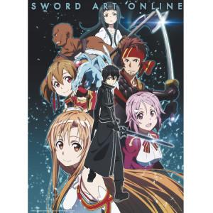 Sword Art Online - Party Members - 52x38 Chibi-Poster