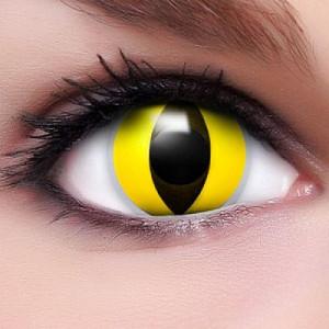 Yellow Cat Eyes Kontaktlinsen