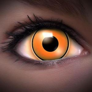 UV Orange Kontaktlinsen