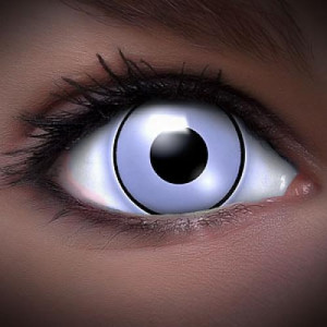 UV White Kontaktlinsen