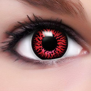 Demon contact lenses