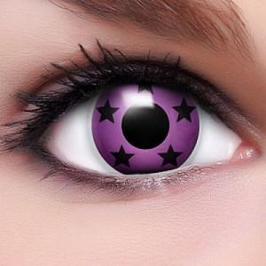 Pink Stars Kontaktlinsen