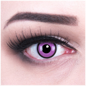 Black Purple contact lenses