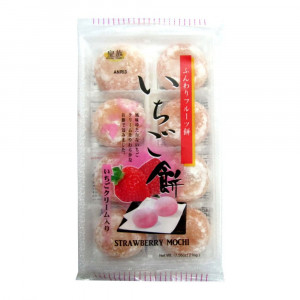 Mochi - sticky rice cake - strawberry in gift box 216g