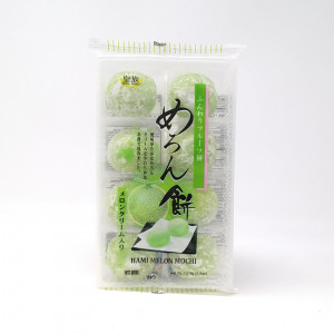 Mochi - sticky rice cake - Hami melon in gift box 216g