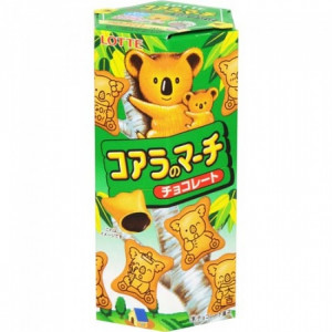 Lotte Koala's March Chocolate Cream Biscuits 48gr