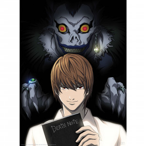 Death Note - Light und Ryuk - 52x38 Chibi-Poster